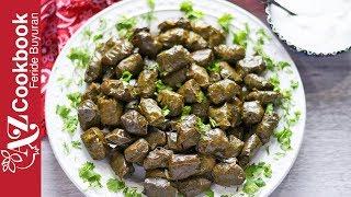 Download Azerbaijani Stuffed Grape Leaves Dolma   Yarpaq Dolması   Долма из Виноградных Листьев Video