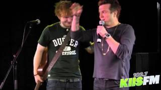 Download 102.7 KIIS-FM: Ed Sheeran Freestyle Raps w/ JoJo Video