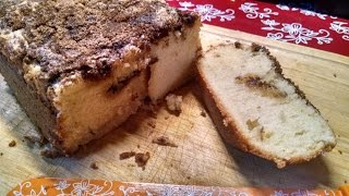 Download How to Make Streusel Coffee Cake in a Bread Machine Video