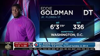Download 2015 NFL Draft Rd 2 Pk 39 | Chicago Bears Select DT Eddie Goldman Video