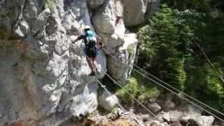 Download Hias-Klettersteig, Silberkarklamm, Ramsau am Dachstein Video