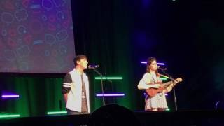 Download thomas sanders and dodie clark- dear happy (live at playlist) Video