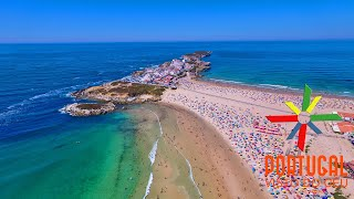 Download Baleal island aerial view - 4K Ultra HD Video