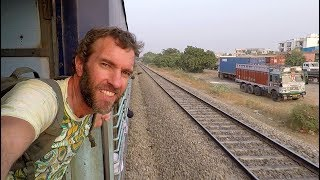 Download How is Train Travel in INDIA? The Journey to Agra Video
