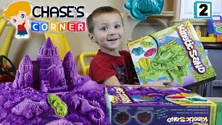 Download Chase's Corner: Kinetic Sand Fun! Review & Unboxing w/ Mom (#2) Video