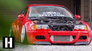 Download Poland's Hottest Drift Car Compound: Hert Visits the Style Bangers Video