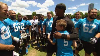Download Sami Caulberg Meets the Panthers Video