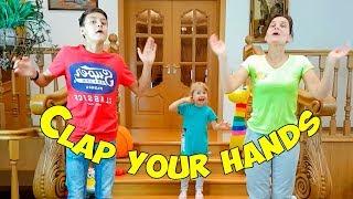 Download متعة الأسرة مع التصفيق يديك أغنية الحضانة القوافي للأطفال Video