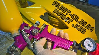 Download Harbor Freight Spray Gun (Rustoleum Paint Job) LOOKS AMAZING! Video