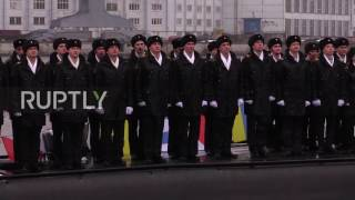 Download Russia: Super-stealth Kolpino submarine arrives for deployment to Black Sea Video