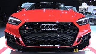 Download 2018 Audi RS5 - Exterior and Interior Walkaround - 2017 LA Auto Show Video