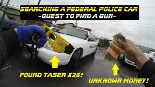 Download Searching A Federal Police Car Found A Taser X26 Ford Crown Victoria Cop Explore Video