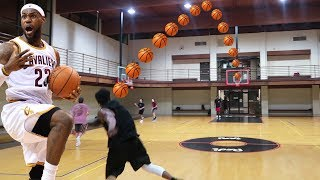 Download THE LEBRON JAMES FULL COURT SHOT CHALLENGE! 7 PLAYER BASKETBALL CHALLENGE! Video