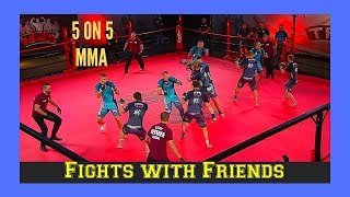 Download Team MMA Championships 5 on 5 US vs Latvia Fights with Friends reaction! Video