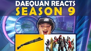 Download DAEQUAN REACTS TO SEASON 9 | NEW SHOTGUN | BATTLEPASS | NEW TILTED Video