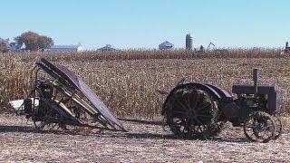 Download Harvesting History Lessons at Antique Harvest Days Video
