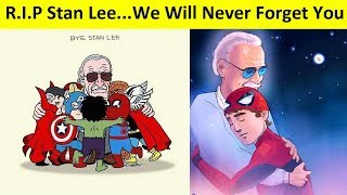 Download Goodbye Stan Lee: Best Of Fans Tribute Arts All Over The World Video