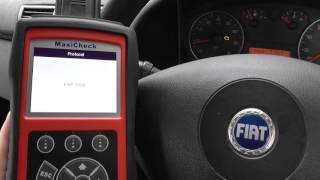 Download Autel MaxiCheck Pro DPF Check Engine Reset Fiat Video