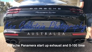 Download Porsche Panamera Turbo start up exhaust and 0-100 time Video