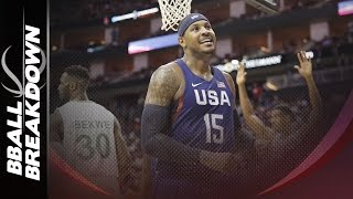 Download Carmelo Anthony: FIBA vs The Knicks Video