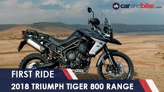 Download 2018 Triumph Tiger 800 First Ride Review | NDTV carandbike Video