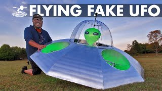 Download Faking a UFO Sighting 🛸 How hard is it? | Area 51👽 Video