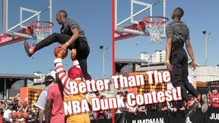 Download Jonathan Clark Would DESTROY The NBA Dunk Contest! Video