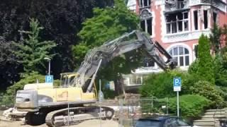 Download Abriss der Brandruine Villa Renckhoff Video