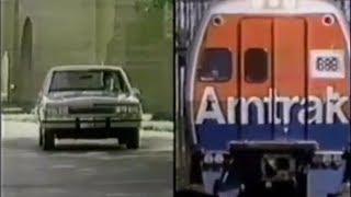 Download 1981 Amtrak Commercial - Car vs. Train Video