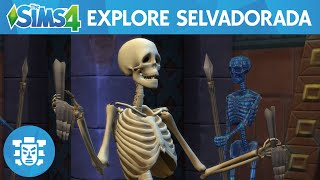Download The Sims 4 Jungle Adventure: Explore Selvadorada Official Gameplay Trailer Video