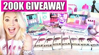 Download HUGE 200K GIVEAWAY! KYLIE LIPKITS, TOO FACED COSMETICS, SCENTS, MAKEUP & BOOKS! | Ask Kimberly Video