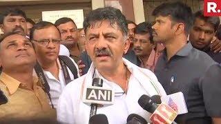 Download DK Shivakumar Speaks To Media After Yeddyurappa Sworn In As CM Video