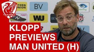 Download Liverpool vs Man United: Jurgen Klopp's Pre-Match Press Conference Video