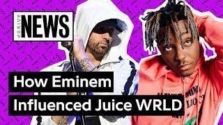 Download How Has Eminem Influenced Juice WRLD? | Genius News Video
