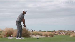 Download Tiger Woods' pre-round warm-up routine Video