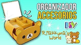Download Haz un ORGANIZADOR de ACCESORIOS de RILAKKUMA!! * Manualidades Fáciles Kawaii Decora tu Habitación Video