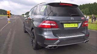Download 650HP Mercedes-Benz ML63 AMG - Acceleration Sound Drag Race! Video
