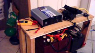 Download running a refrigerator off solar / battery back up test doomsday preppers Video
