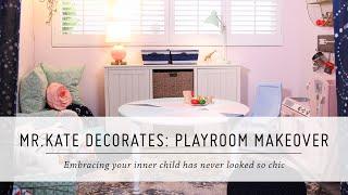 Download Mr. Kate Decorates: Playroom Makeover | Pillowfort Home Decor & DIY Interior Design Video