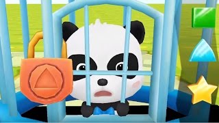 Download Little Panda Save The Town | Baby Panda Fun Puzzle Game For Kids Video
