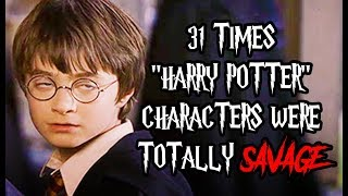 Download 31 Times ″Harry Potter″ Characters Were Totally Savage Video