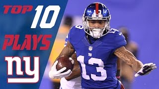 Download Giants Top 10 Plays of the 2016 Season | NFL Highlights Video