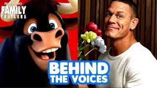 Download FERDINAND | Behind the Voices of the family animated comedy Video
