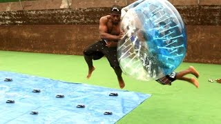 Download SLIP AND SLIDE MOUSETRAP DEATHBALL CHALLENGE w/TGFBRO Video