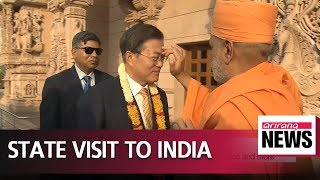 Download South Korean Pres. Moon kicks off India state visit; economic ties in focus Video