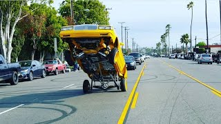 Download Lowrider Gas Hopping & Hittin' switches Broadway Blvd Video