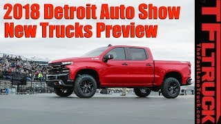 Download Most Interesting New Trucks! 2018 Detroit Auto Show Preview Video
