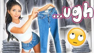 Download JEAN SHOPPING! (the struggle is real lol) Video
