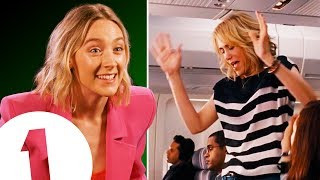 Download ″I'm ready to PARTY!″ Saoirse Ronan on her amazing Bridesmaids trick & being upstaged by Ed Sheeran. Video