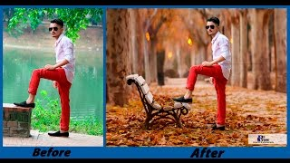 Download Photoshop CC - Background Change and Photo Retouch Tutorial - August 2016 Video